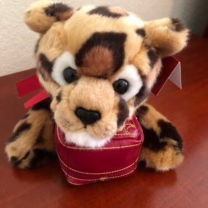 RARE Cartier stuffed animal w/ plush Cartier box